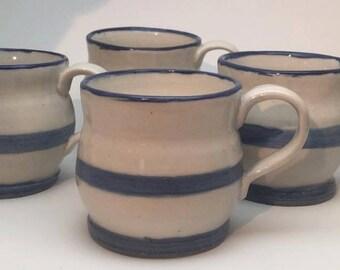 Stone wear mugs set of four