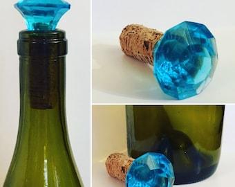 Aquamarine Diamond Cork