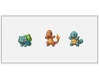 OG Pokemon Starters