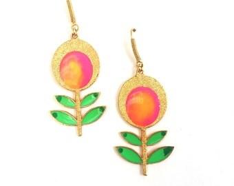 Flowers in Bloom earrings