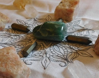 Creative Prosperity & Abundance Sacred Crystal Grid