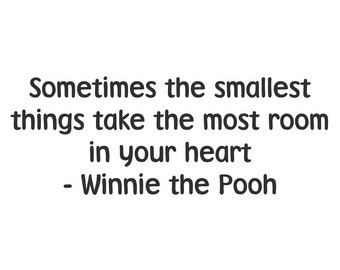 Printable Wall Art- Winnie the Pooh Quote