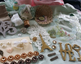 36 piece embellishment kit