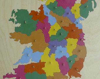 Ireland: Wooden Puzzle