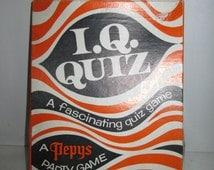 Pepys Party Game IQ Quiz