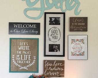 Fancy Wall Decor.. Custom made Signs