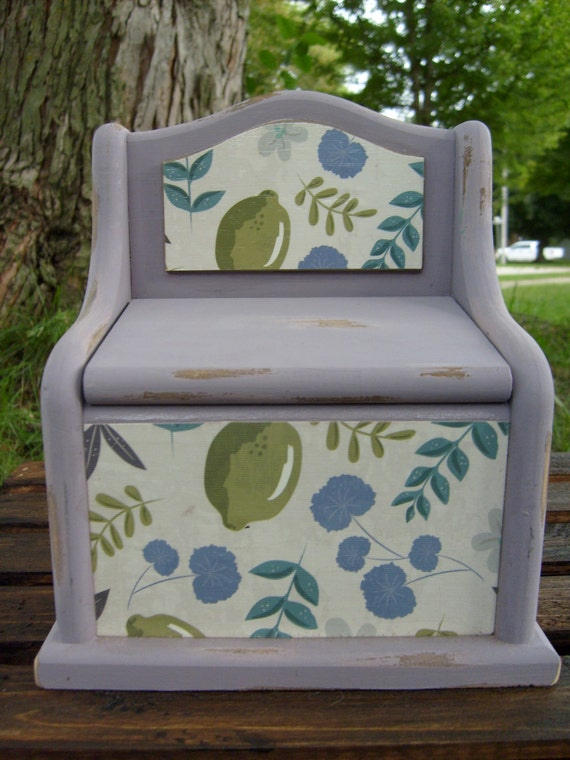 Decorative recipe box shabby chic recipe box trinket box - Decoratie recup ...