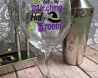If the Shoe Fits Wine Glass - Customized Wine Glass
