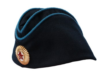 Soviet Air force Pilotka Hat Russian Officers
