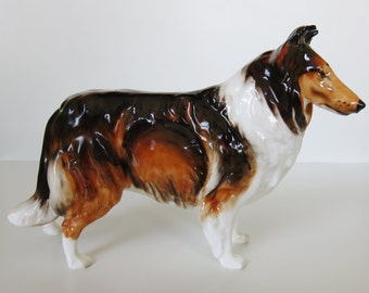 Vintage Royal Doulton England Collie Dog Figurine HN1058