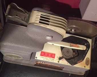 Dukane Vintage Projector With Record Player