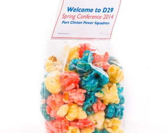 Custom Birthday Party Favors that will WOW your guests! - Popcorn party favors- birthday favors