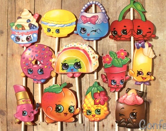 Shopkins Cupcake Toppers #2