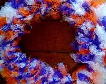Big & Sassy Tulle wreath