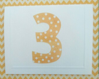 Child's 3rd Birthday Card & Envelope - Fun - Colourful