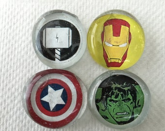Set of Four Avengers Magnets