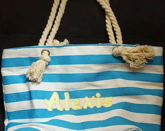 Personalized Beach Totes!