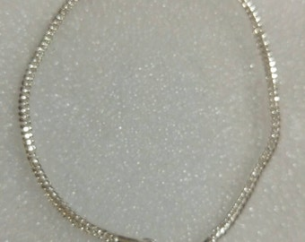 SALE!! 925 Sterling Silver European 3mm Bracelet 20cm