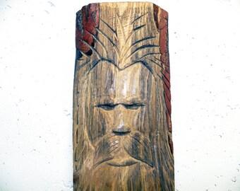 Hand Carved Wood Spirit