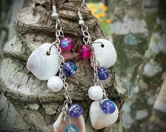 Caladesi Dangle Seashell Earring