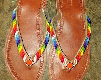 furaha maasai sandals/massai sandals