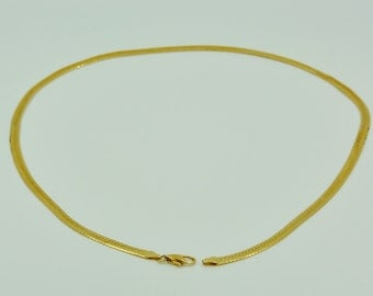 14k Gold 24'' chain.