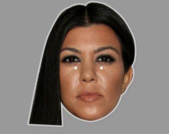 Kourtney Kardashian Mask by RapMasks