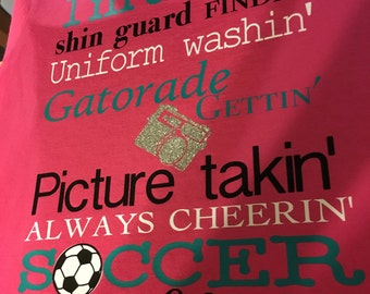 Soccer Mom Shirt- Personalize