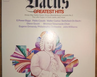 Various Artists - Bach's Greatest Hits Vol. 2 MS-7514 Vinyl Record LP 1970