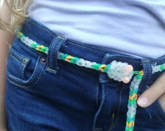 Snake Belt. Customizable colors.