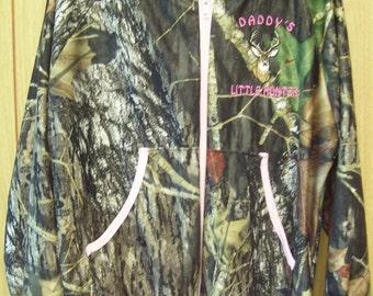 Girls Camouflage light weight jacket