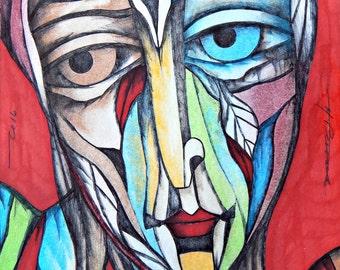 Heterochromia Man
