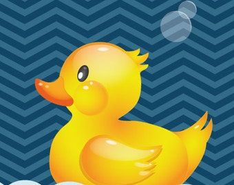 Poster of a Rubber Duck