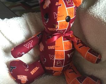 Virginia tech fan bear