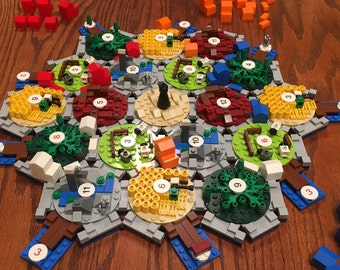 Lego Settlers of Catan Board