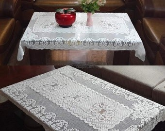vintage rectangle tablecloth