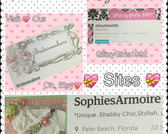 Our 3 Sites BrideSneakers *GlitzyGirls1992 *SophiesArmoire*