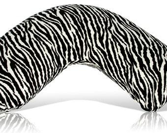 Baby Nursing Pillow,Large,Zebra minky Bosom Baby nursing pillow, Amazing nursing support that is luxuriously soft!