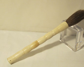 ON SALE White Chinese Calligraphy Bone Brush