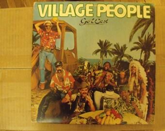 "Village People ""Go West"" Album Vinyl - 1979"