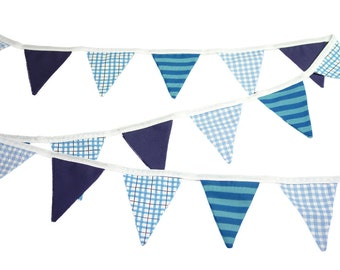 Blue Mix Bunting