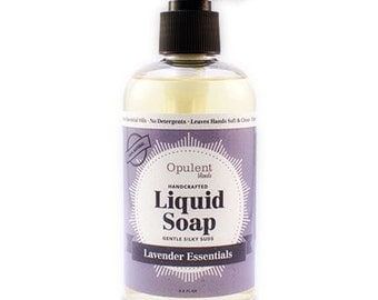 Natural Liquid Soap - Lavender