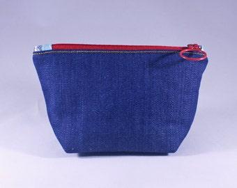 Denim Zipper Bag