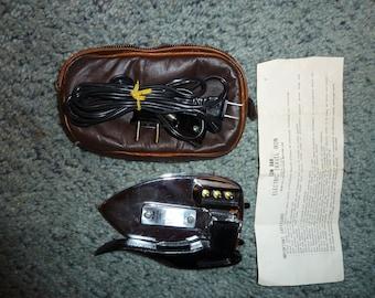 Vintage travel iron 1960's