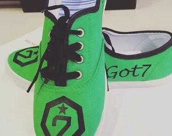 Got7 K-pop Shoe