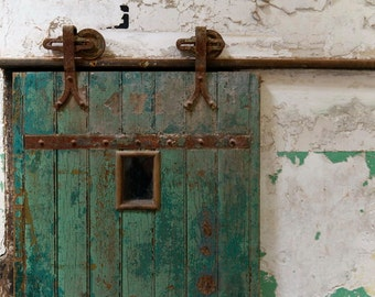 Photo Print - Eastern State Penitentiary Cell Door - Prison Door - Old Prison