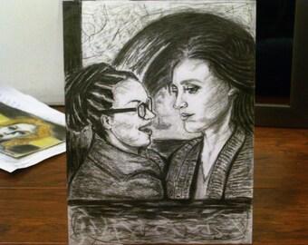 A Love Story (original drawing)