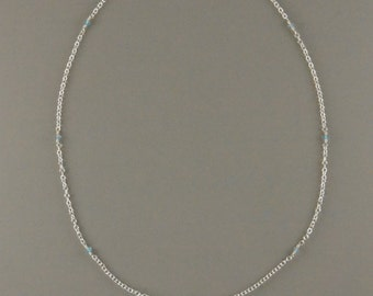 Seven Bead Apatite Necklace