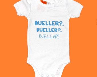 Bueller? - Ferris Bueller Inspired Baby Onesie