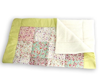 Patchwork Blanket Summery Meadow